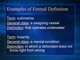 definition essay ppt video online examples of formal definition