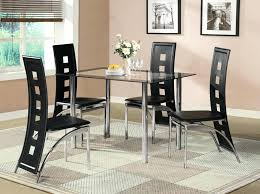 black glass dining table set black glass dining room table set and with 4 or 6