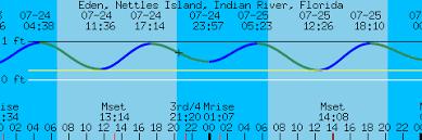 Indian River Tide Chart Eden Nettles Island Indian River Florida Tides And