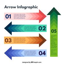 Arrows Infographic Vector Free Download