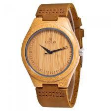redear wooden og quartz lightweight handmade wood wrist watch free dealextreme