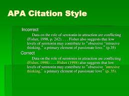 Basics Of Apa 6th Citation Style Ppt Download