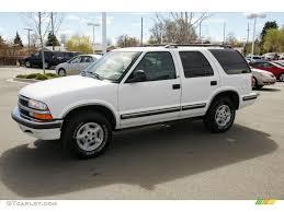 1998 Summit White Chevrolet Blazer LS 4x4 #47635466 Photo #5 ...