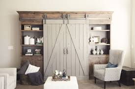 vintage double track barn door hardware