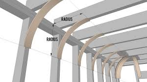 The radius of a cove ceiling is the amount of curvature. If you were to  select an 18 radius, you would measure down from your ceiling along your  wall ...