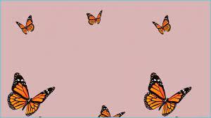 Butterfly Background Cute Desktop ...
