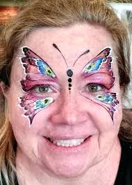 erfly face painting easy erfly erflies a erfly face painting ideas easy erfly face paint easy step by step