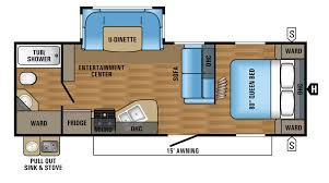 2017 jay flight 24rbs floorplan