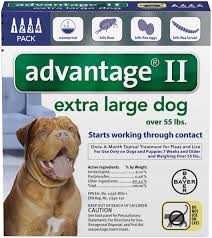 Advantage Ii For Dogs Bayer Flea Tick Topicals Flea Tick