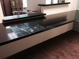 impactful black color quartz countertops at luxurious article