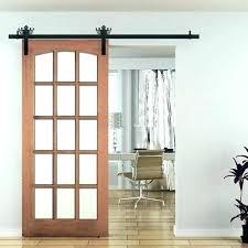 interior barn door decorative hardware doors with glass inserts