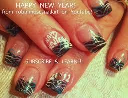 New Years Nail Art | Nail Art | Pinterest | Robin moses, Nail art ...