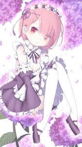 image d anime re zero kara hajimeru isekai seikatsu ram re zero ro igris geo single tall image blush 485360 fr