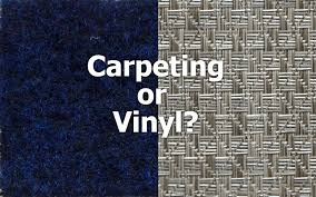 an end to the classic pontoon flooring debate carpet or vinyl