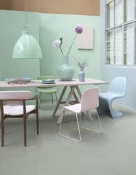View in gallery Pastel dining room