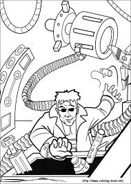 Spiderman Coloring Pages On Coloring Bookinfo