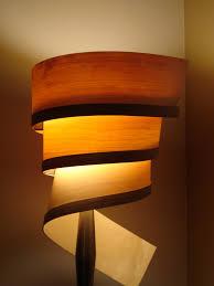 wood veneer lighting. Wood Lamp Shades 27 Veneer Shade Living Room Lighting