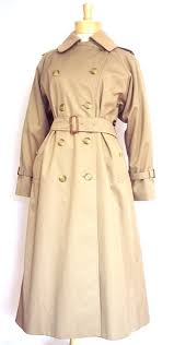 womens original burberrys double ted trench coat with warmer british tan