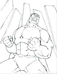 Red Hulk Coloring Pages Incredible Hulk Coloring Page Hulk Coloring