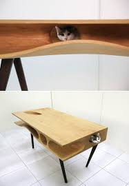 Multifunctional Cat Table And Play Furniture