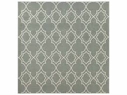 surya alfresco square sage cream area rug
