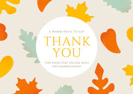 free thank you cards online thank you card template online
