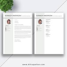 Cover Letter And Resume Templates Creative Resume Template Modern CV Template Word Cover Letter 73