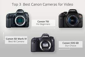 best canon camera for video recording