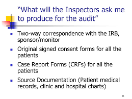 Ppt Good Clinical Practice And Audit Preparedness