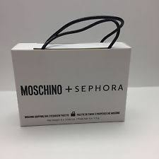 moschino sephora ping bag eyeshadow palette brand new in box authentic