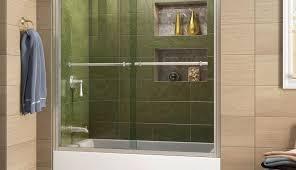 doors door kohler tubshower images frameless bathtub glass astounding sliding bypass menards trackless enclosures shower