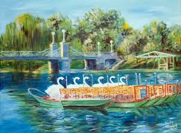 swan boats in boston s public gardens by becky dimattia swan boats in boston s public gardens by becky dimattia