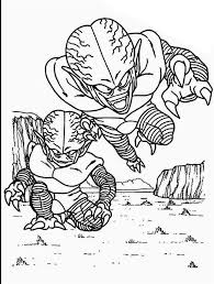 Free Dragon Ball Z Coloring Pages Sketch Get Coloring Page
