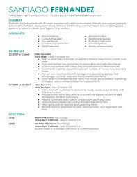 Sample Resume Of Retail Sales Associate Part Time Sales Associates