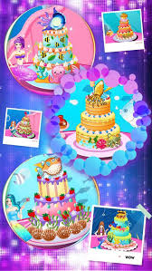 mermaid cake decoration s cooking makeup and makeover games screenshot 5