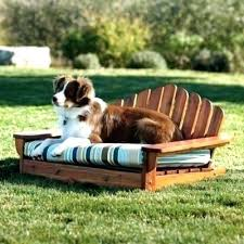 Wicker Pet Bed Outdoor Pet Bed Dog Bed Outdoors Collection Outdoor ...