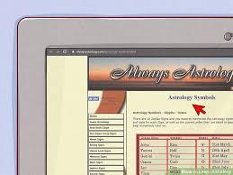 Alwaysastrology Com Birth Chart 3 Ways To Learn Astrology Wikihow