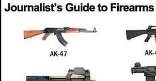 Left Wing Medias Guide For Firearms Identification Chart
