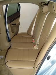 honda civic full piping seat covers rear seats
