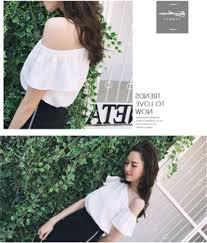 メルカリ 流行りのオフショルデザイン トップス ホワイト 白 Tシャツ