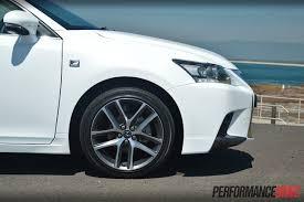Lexus CT 200h F Sport review (video) | PerformanceDrive