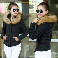 short winter jacket for women fancy
