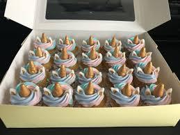 Unicorn Mini Cupcakes Food Drinks Baked Goods On Carousell