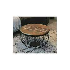 round furniture rustic vintage