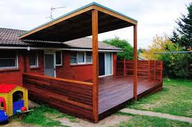 australian decks with pitched roof - Google Search