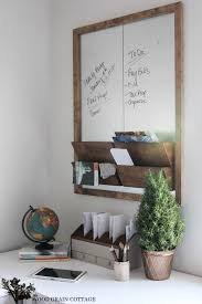 metal and wood wall organizer feature from wood grain cottage