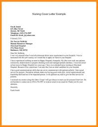 New Nurse Cover Letter Sample 12 13 Rn Cover Letters Examples Lasweetvida Com
