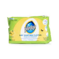 pledge dry dusting cloths citrus 20pk image