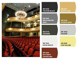 Love Theater Heres A Color Palette Inspired By