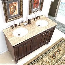 exclusive inch double sink dark brown bathroom vanity top 55
